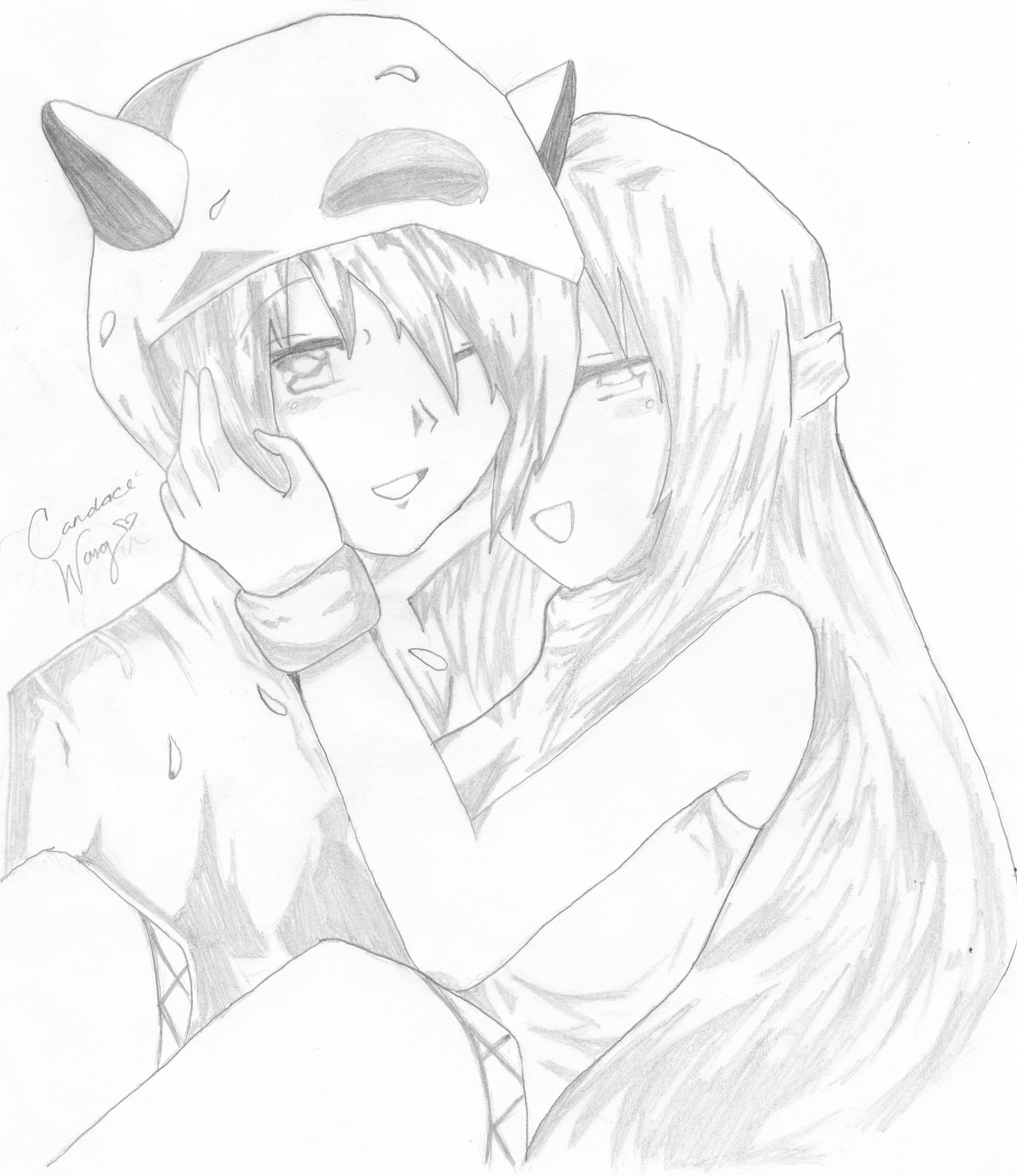 1836x2124 source mirror - Cute anime couple pictures ...