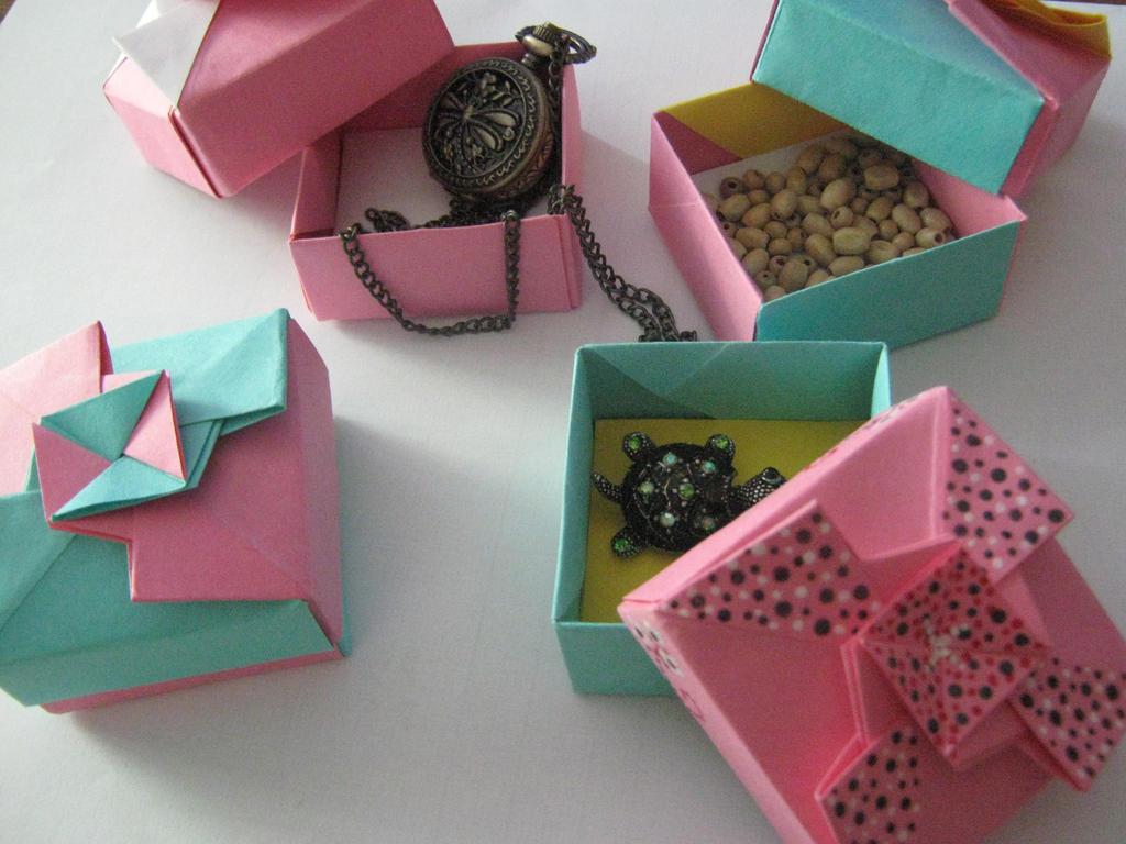 Origami Gift Boxes by DarkUmah - photo#12