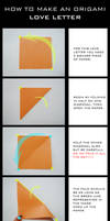 TUTORIAL: Origami Love Letter