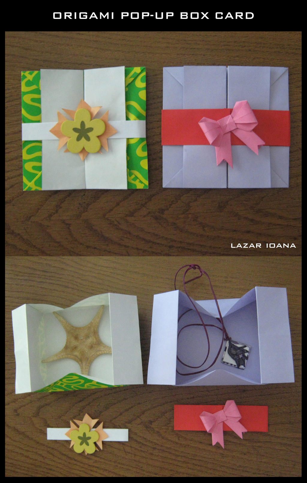 Origami Pop-up Box Card by DarkUmah on DeviantArt - photo#24