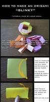 Tutorial: How to make an Origami Slinky