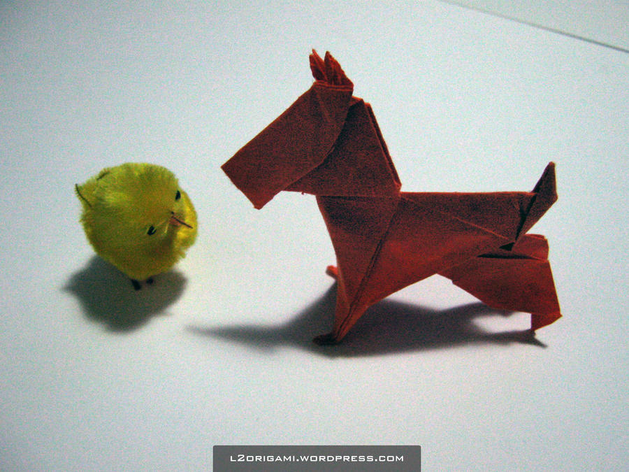 Origami Fall Challenge 18 by DarkUmah