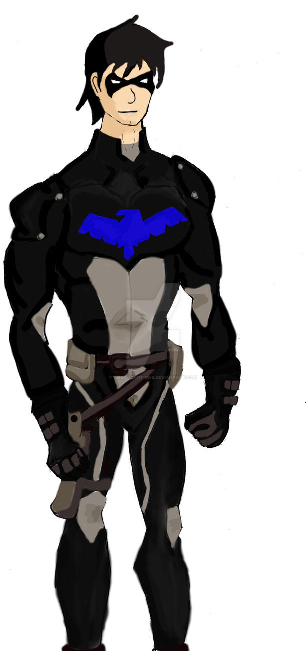 Nightwing young justice color by angelicnotions on deviantart - Pictures of nightwing from young justice ...