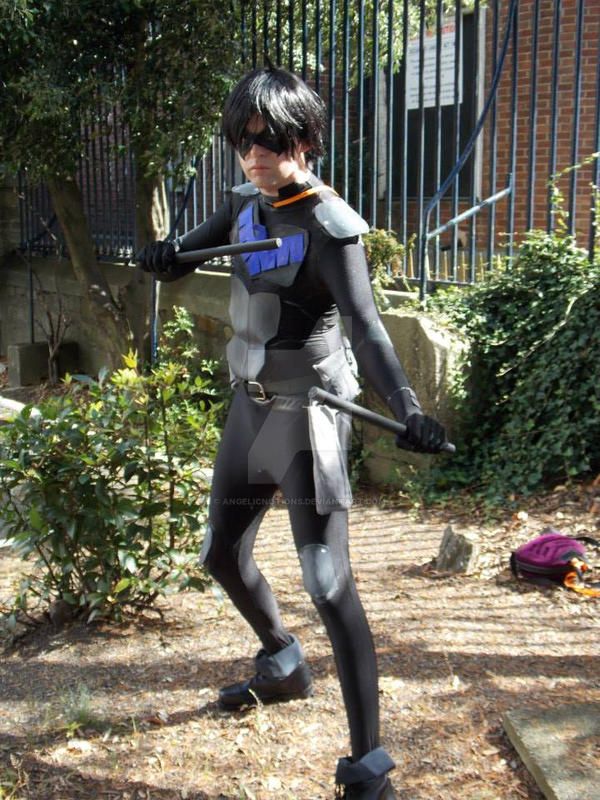 Nightwing young justice cosplay by angelicnotions on ...
