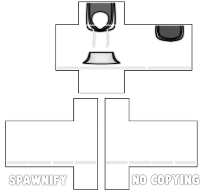 Hoodie Template Roblox Png Roblox Hoodie Template By Spawnify On Deviantart