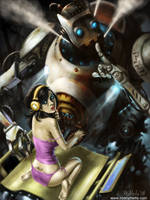 Naughty Robot by gigsmella