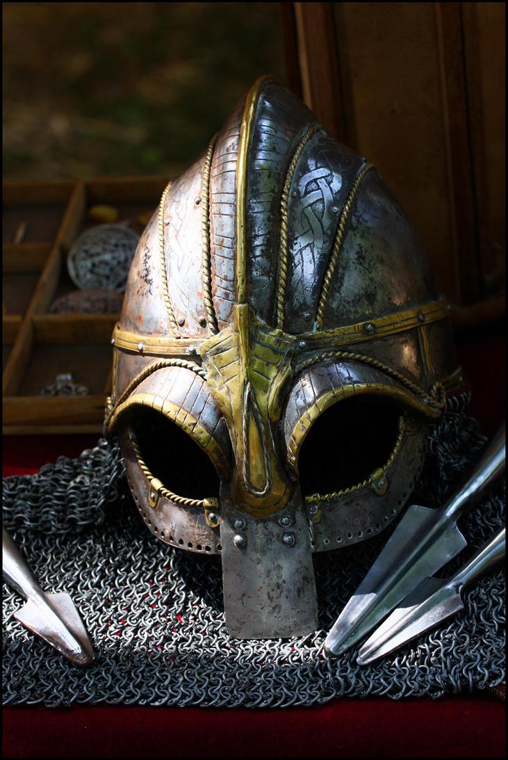 Viking Helmet by bakabobo
