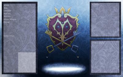 Kingdom Hearts Academy Character Card