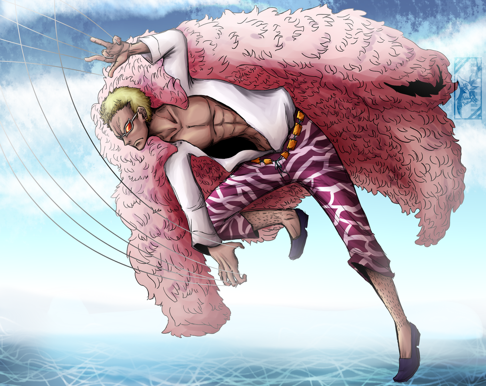 Donquixote Doflamingo by Deer-Head