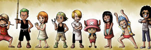 Young Straw Hats