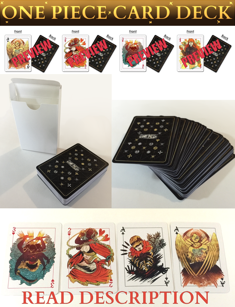 ONE PIECE CARD DECK!! by Deer-Head