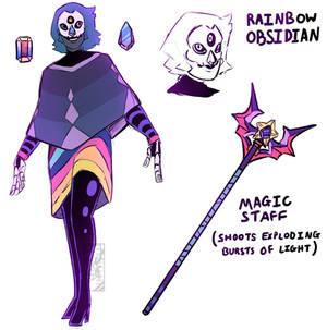FUSION: Rainbow Obsidian