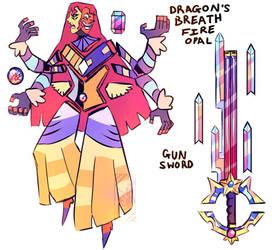 FUSION: Dragon's Breath Fire Opal