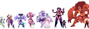 Fusions With Canon Gems