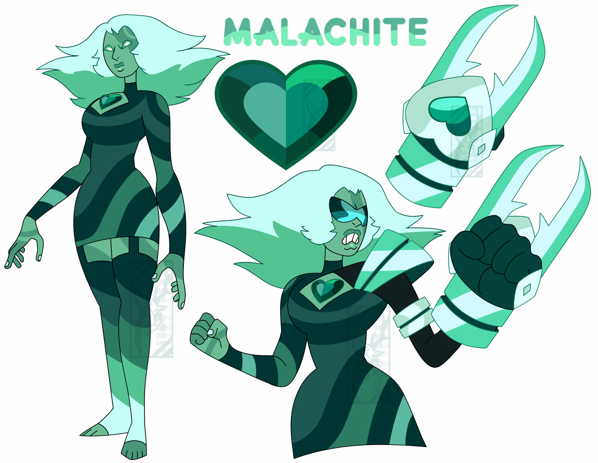 Padparadscha Malachite By Deer Head On Deviantart