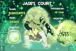 JADE'S COURT: Bowenite