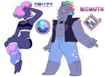 Druzy and Bismuth