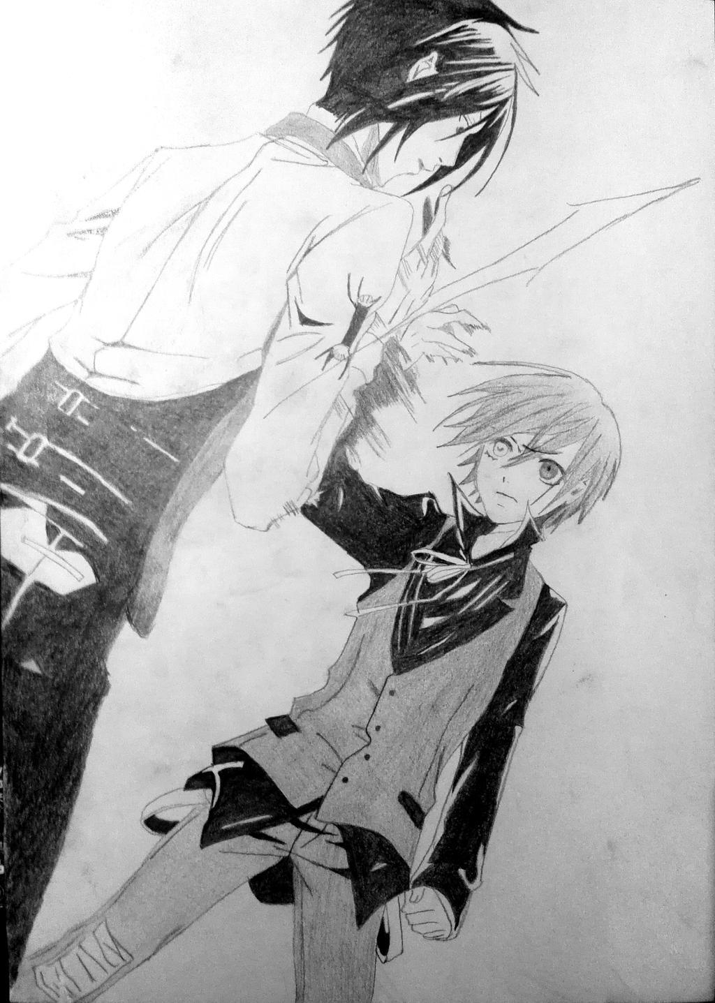 Black Butler - Sebastian, Ciel by Truthun96