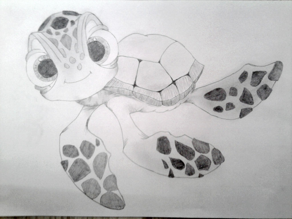 Baby Turtle Cartoon Nemo