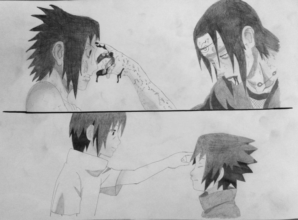 Sasuke Lineart : Naruto sasuke and itachi by truthun on deviantart