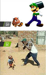 Mario games with RTX on