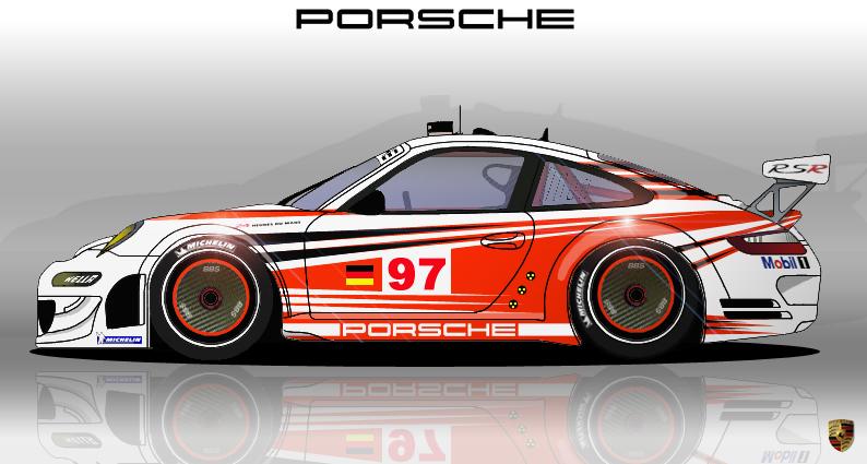 Porsche 911 Gt3 Rsr Lemans By Hanmer On Deviantart