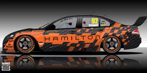 Hamilton V8 Supecar 2