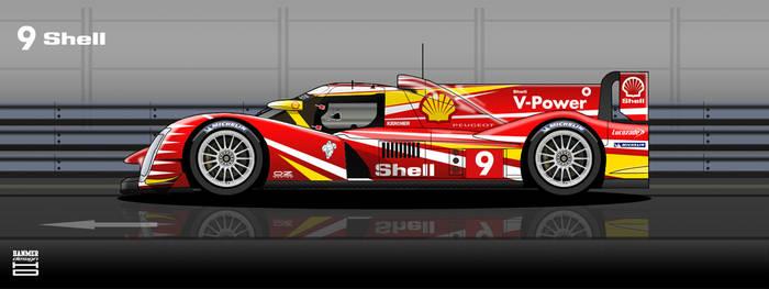 Shell Peugeot 908 2012 #9