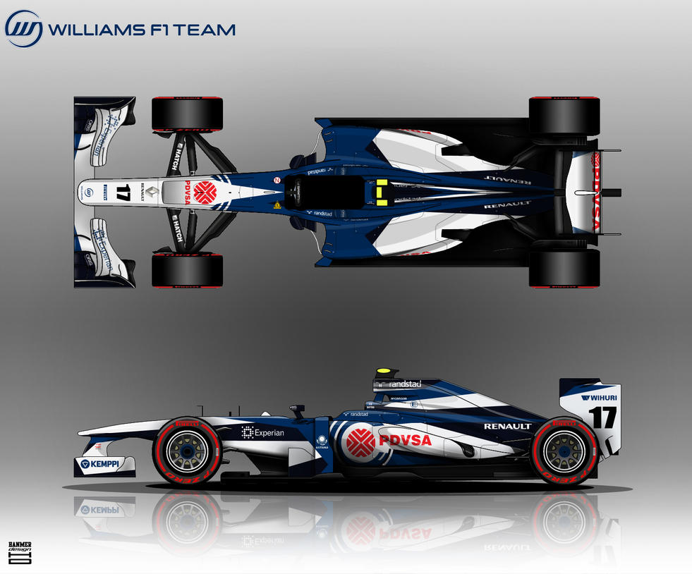 Williams FW35 by hanmer
