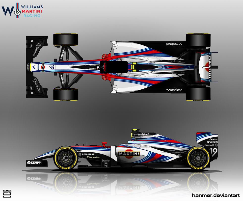 Williams Martini Racing 2014 by hanmer