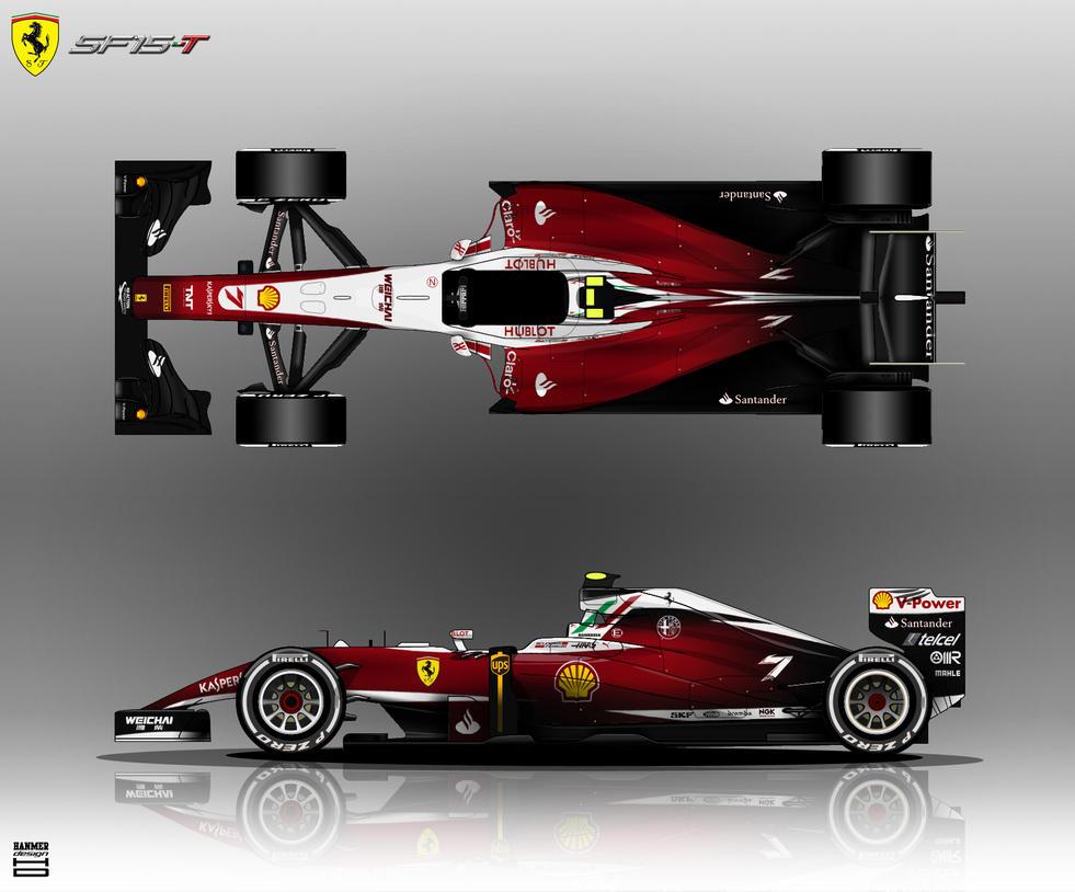 Ferrari SF15-T 2015 by hanmer
