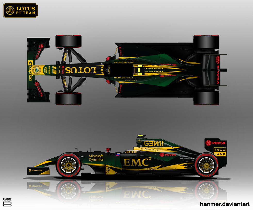 Lotus E23 2015 by hanmer