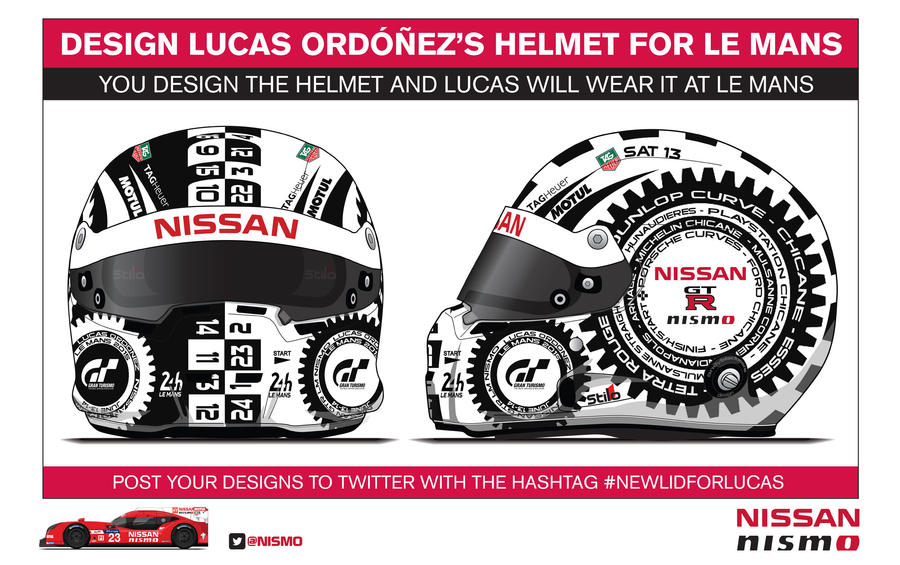 Lucas Ordonez Helmet by hanmer