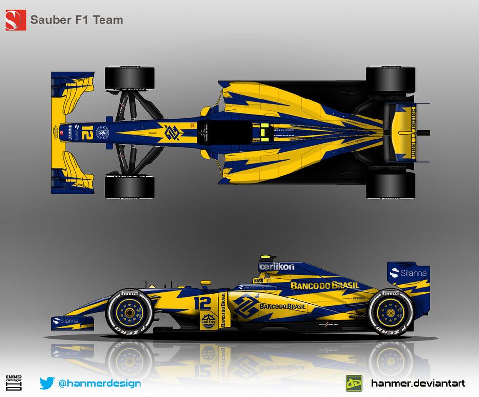 Sauber C34 2015 by hanmer