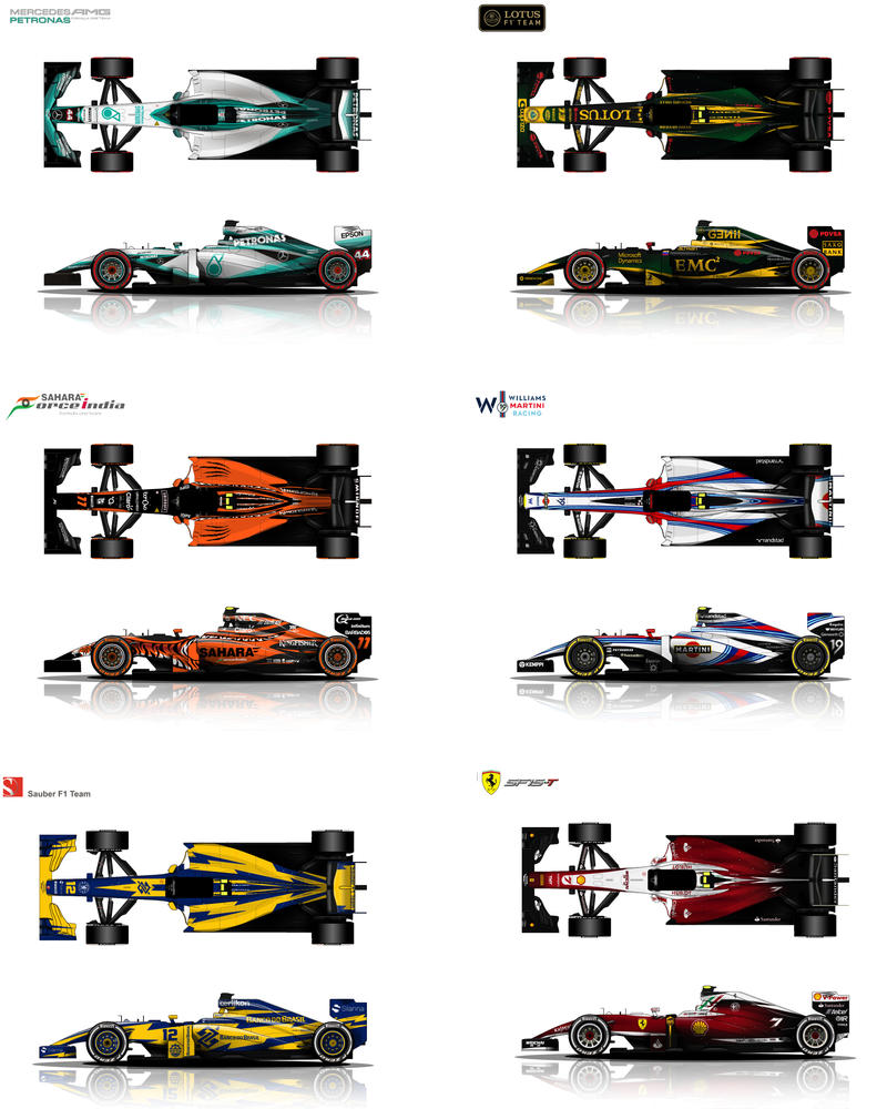 F1 Livery Concepts By Hanmer