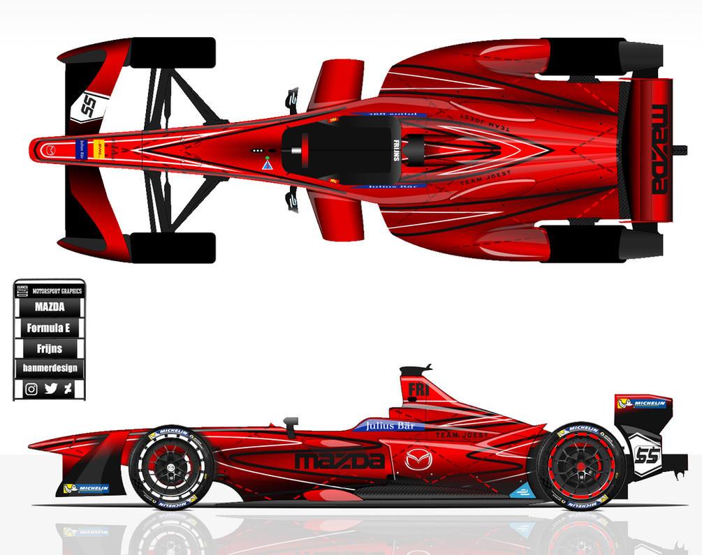 Mazda Formula E by hanmer