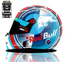 Andrew Jordan BTCC 2018 helmet concept