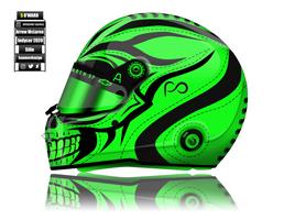 Patricio O'Ward 2020 Helmet concept