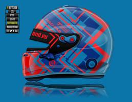 Rory Butcher BTCC helmet concept