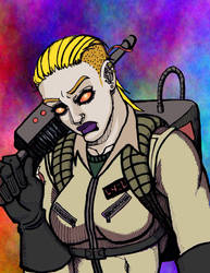 Rachel Unglighter Ghostbusters by Mikem23