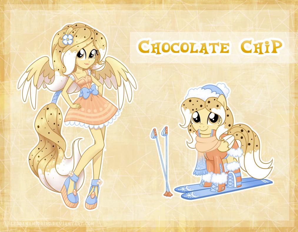 Chocolate Chip by LessaNamidairo