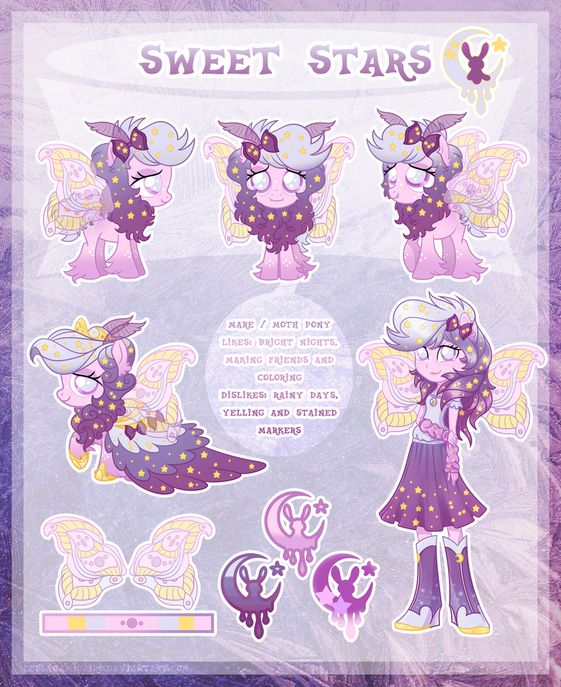 Sweet Stars - ultimate reference guide by LessaNamidairo