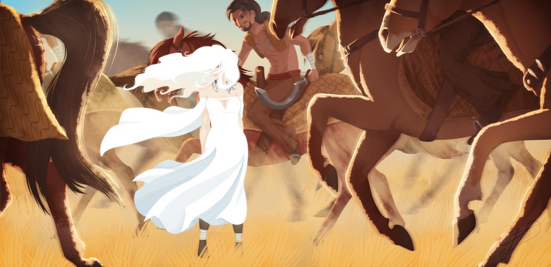 Khalasar by LessaNamidairo
