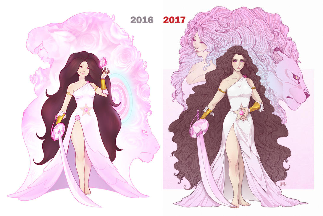 My progress 2016-2017 by LessaNamidairo