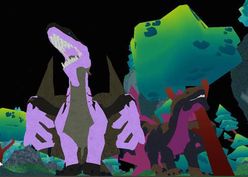 Roblox Dragon Adventure : Maxie and Dragona