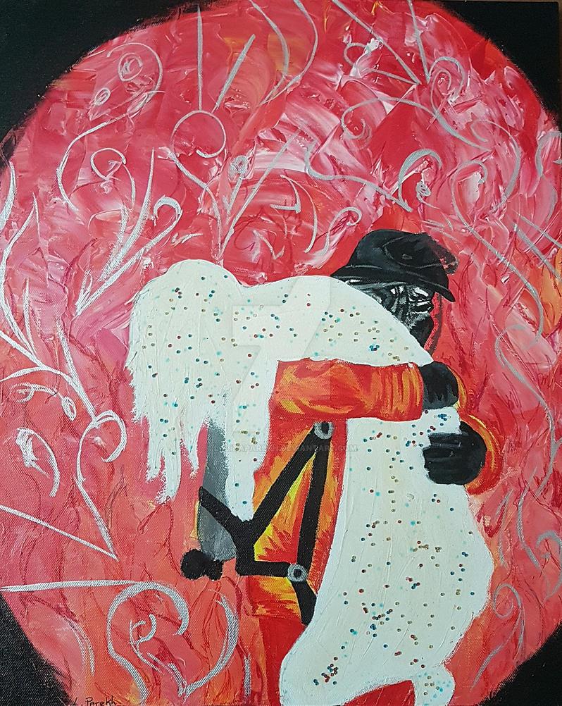 Fireman Saving Life by lolitaparekh