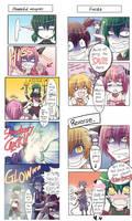tokyo mew mew comics by Sarakrista