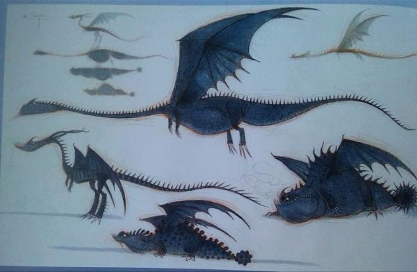 The Art Of HTTYD 2 Dragons por hiccupandtoothless22