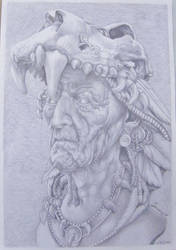 Tribal King by helluvaman