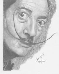 Salvador Dali by helluvaman